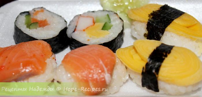 Как приготовить вкусные суши дома