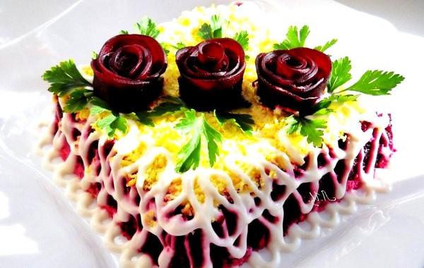 салат из сырой свеклы с капустой рецепты