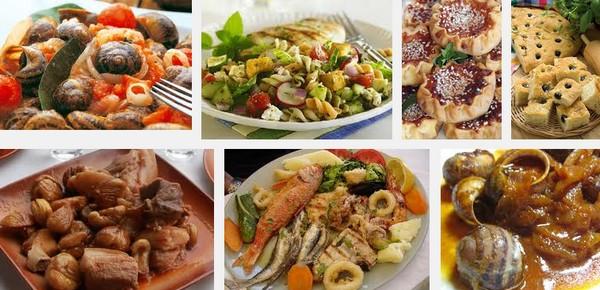 Кухня острова Крит в Греции