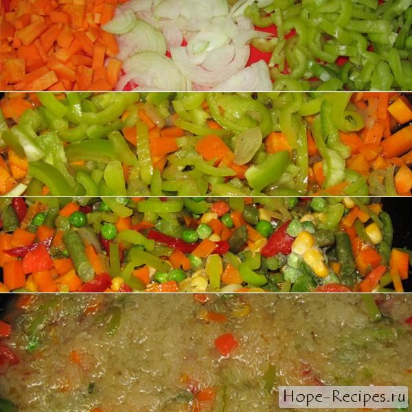 Как приготовить ризотто с овощами