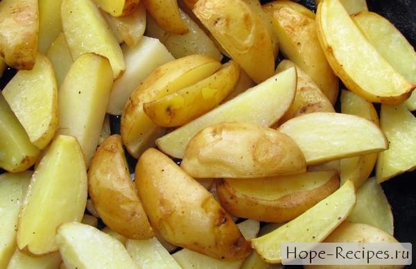 Как приготовить запеченный картофель