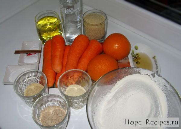 Из чего готовят морковный торт