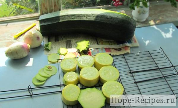 Как приготовить кабачки на решетке гриль