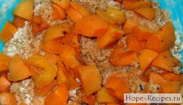 Готовим тесто на абрикосовый пирог