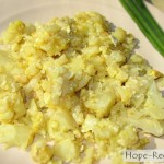 Цветная капуста в яйце