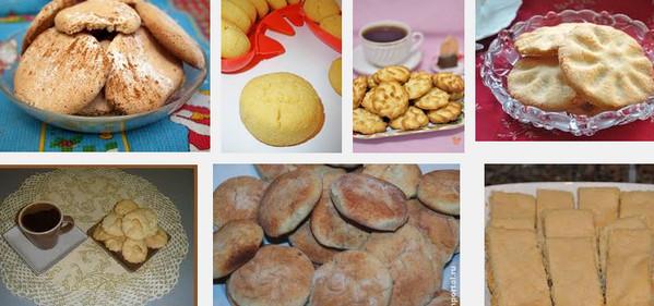 Бисквитные пирожные из рисовой муки