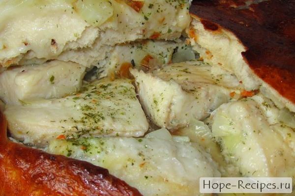 пирог с щуки рецепт с фото
