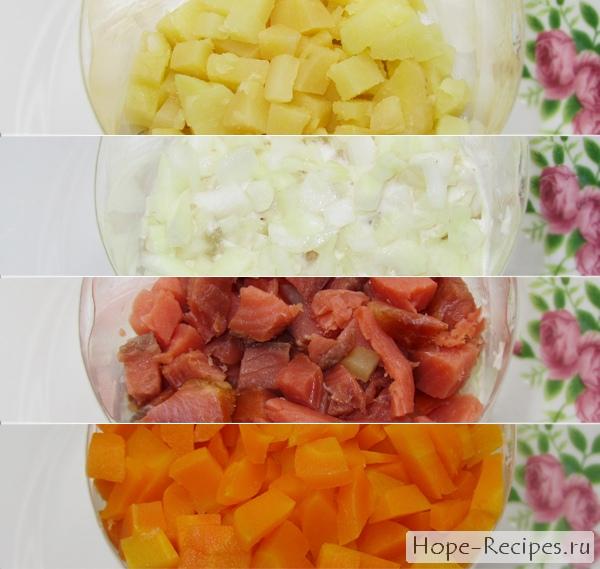 Как приготовить салат Норвежский