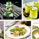 Овощные рулетики из цуккини с сыром