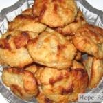 Печенье с кокосом и бананом по вегану