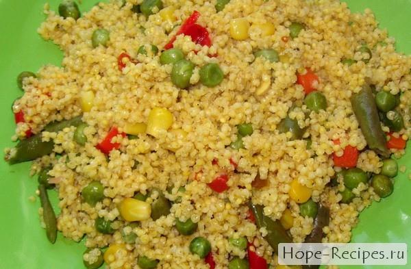 Гарнир из пшеничной крупы рецепты