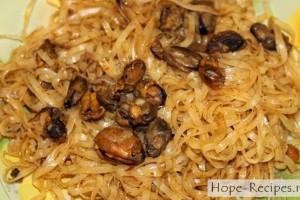 Жареная рисовая лапша