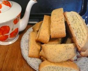 Бабушкины сухарики к чаю