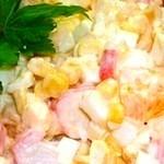 Салат с крабовыми палочками Королевский