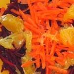 Витаминный салат из свеклы
