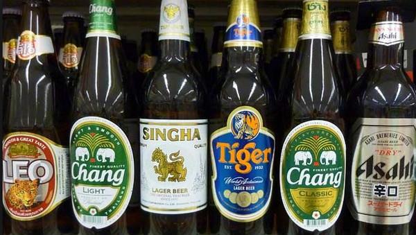 Выбор пива в Таиланде