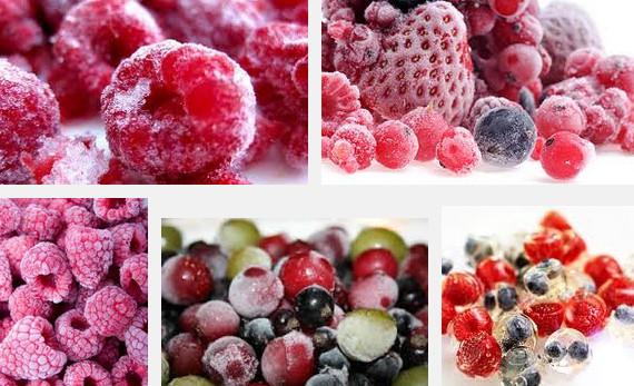 Замораживание ягод на зиму