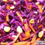 Рецепт постного салатика с кукурузой