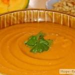 Полезный тыквенный суп-пюре с овощами и машем