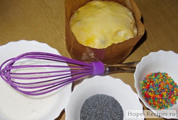 Готовим глазурь для пасхальных куличей