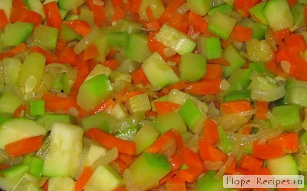 Пошаговый процесс приготовления вегетарианского ризотто