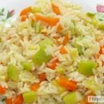 Вегетарианский рецепт ризотто с овощами