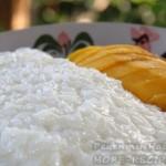 Десерт из манго и клейкого риса в домашних условиях
