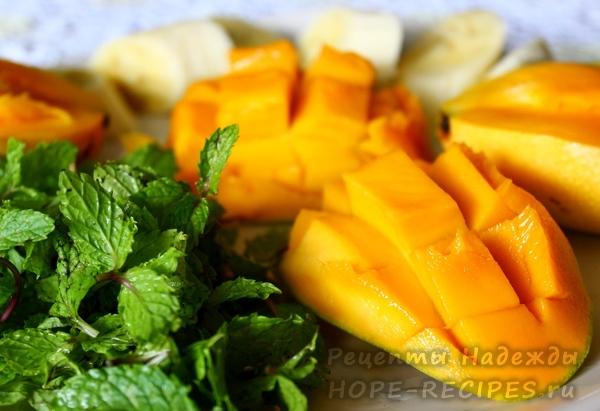 Как приготовить смузи из манго