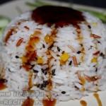 Ароматный рис, приготовленный в микроволновке