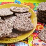 Полезная сладость - козинаки из бананов с семечками и кунжутом