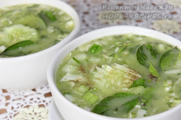 Как приготовить холодный суп с авокадо