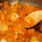 Рецепт тыквы тушеной с грибами