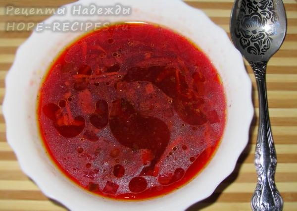 Свекольник - суп со свеклой