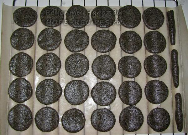 Домашнее песочное печенье с маком