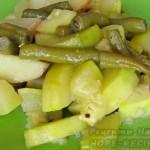 Как приготовить рагу из кабачков, фасоли и картошки