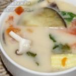 Супчик на кокосовом молоке по-тайски