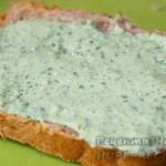 Бутерброды с творожным сыром очень вкусные!