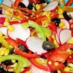 Овощной салат Калейдоскоп