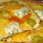 Пицца из 4 видов сыра