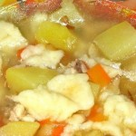 Аппетитный суп с клецками