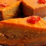 Постный морковный торт с кремом
