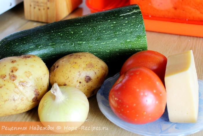 Как запечь в духовке овощи