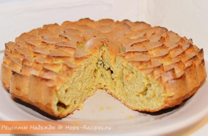 Как испечь тыквенный пирог