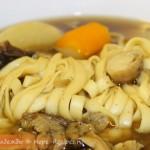 Рецепт вкусного супа с лапшой и грибами