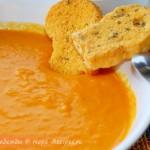 Мой любимый морковный суп-пюре на кокосовм молоке