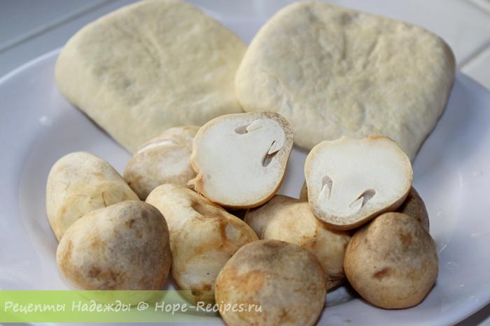 Соевый сыр тофу и грибы - хорошие источники растительного белка для вегетарианцев и соблюдающих пост
