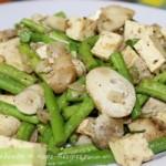 Как вкусно приготовить зеленую фасоль с грибами