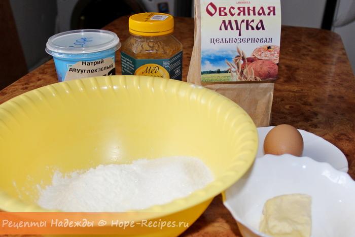 Как испечь печенье из овсяной муки