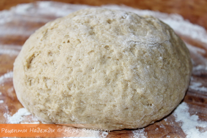 Тесто для печенья из овсяной муки