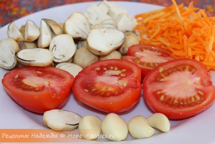 Из чего приготовить вегетарианский плов